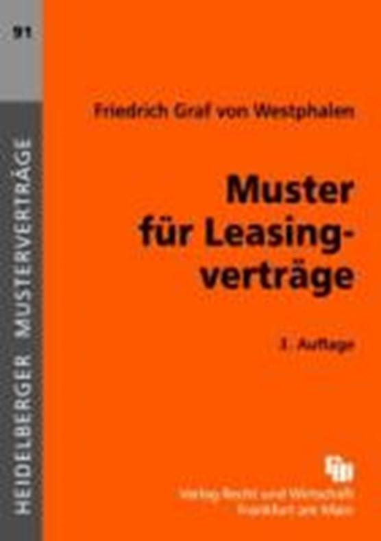 Muster für Leasingverträge