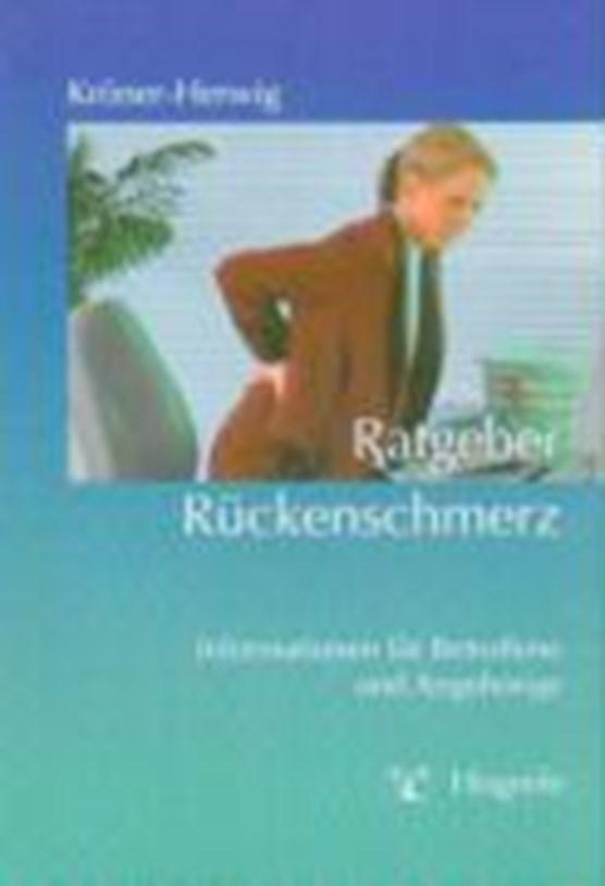 Kröner-Herwig: Ratgeber Rückenschmerz