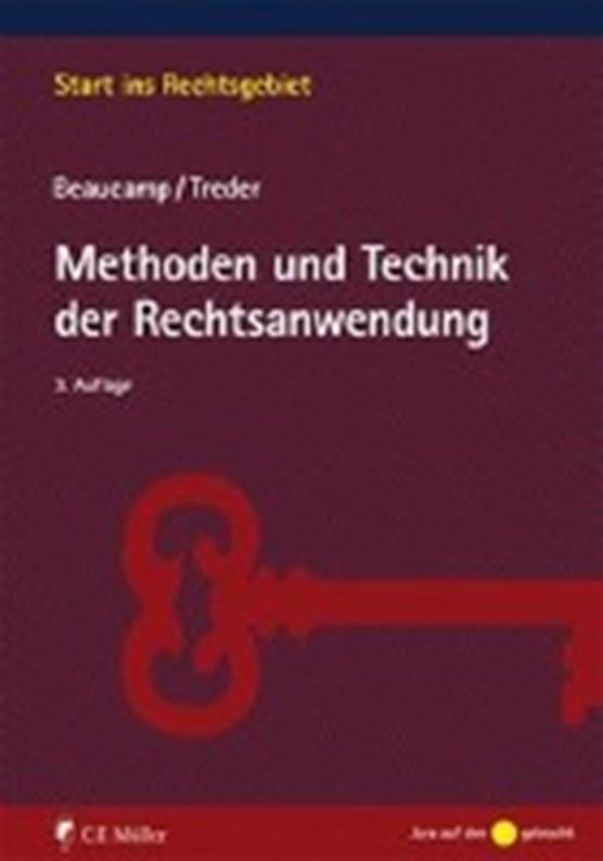 Beaucamp, G: Methoden und Technik der Rechtsanwendung