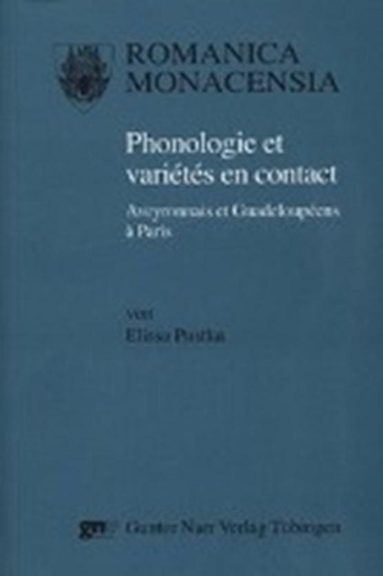 Phonologie et variétés en contact