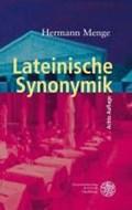 Lateinische Synonymik   Hermann Menge  