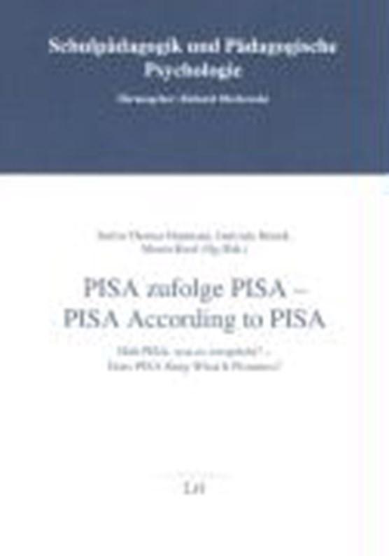 PISA zufolge PISA /PISA recording to PISA