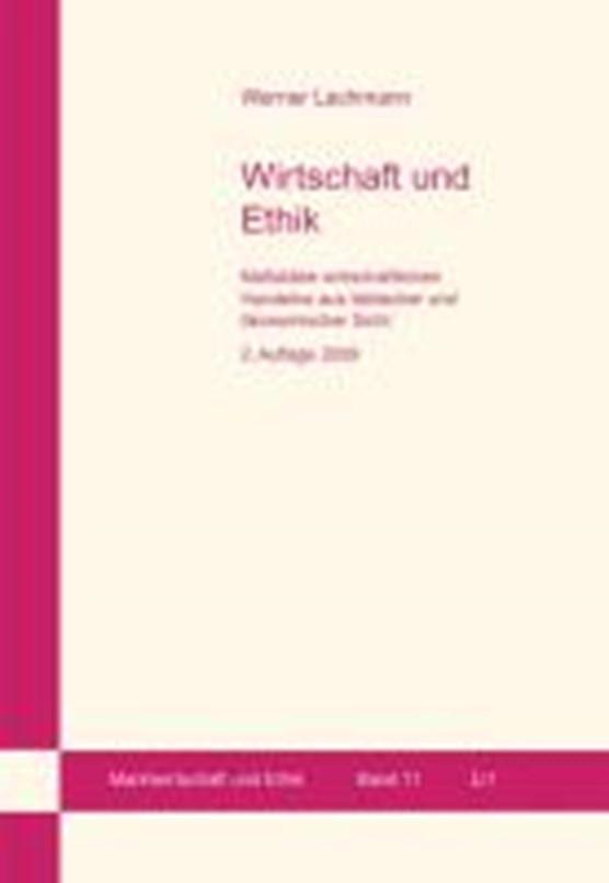 Wirtschaft und Ethik. 2. Auflage