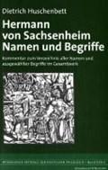 Huschenbett, D: Hermann von Sachsenheim   Dietrich Huschenbett  