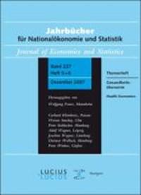 Gesundheitsoekonomie / Health Economics   Klaus-Dirk Henke  