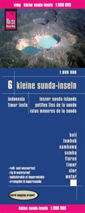 Reise Know-How Landkarte Kleine Sunda-Inseln(1:800.000) - Bali, Lombok, Sumbawa, Sumba, Flores, Timor, Alor, Wetar -  Karte Indonesien 6 | auteur onbekend |