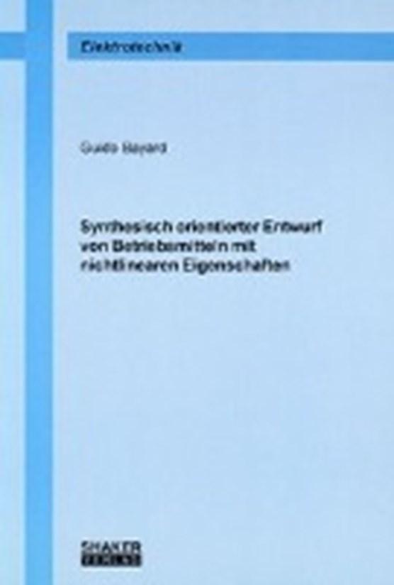Bayard, G: Synthesisch orientierter Entwurf von Betriebsmitt