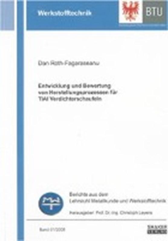 Entwicklung und Bewertung von Herstellungsprozessen für TiAl Verdichterschaufeln