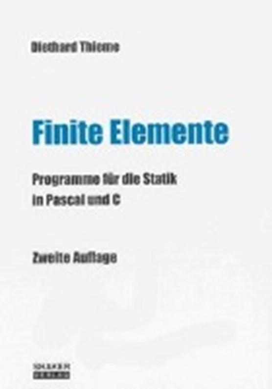 Thieme, D: Finite Elemente