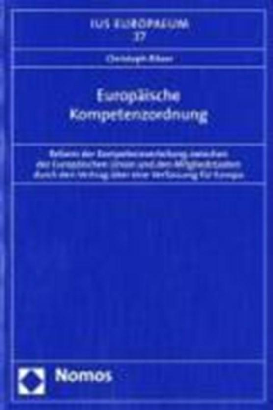 Europäische Kompetenzordnung