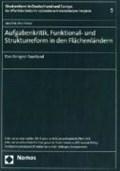 Aufgabenkritik, Funktional- und Strukturreform in den Flächenländern   Joachim Jens Hesse  