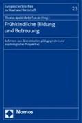 Frühkindliche Bildung und Betreuung | Apolte, Thomas ; Funcke, Antje |