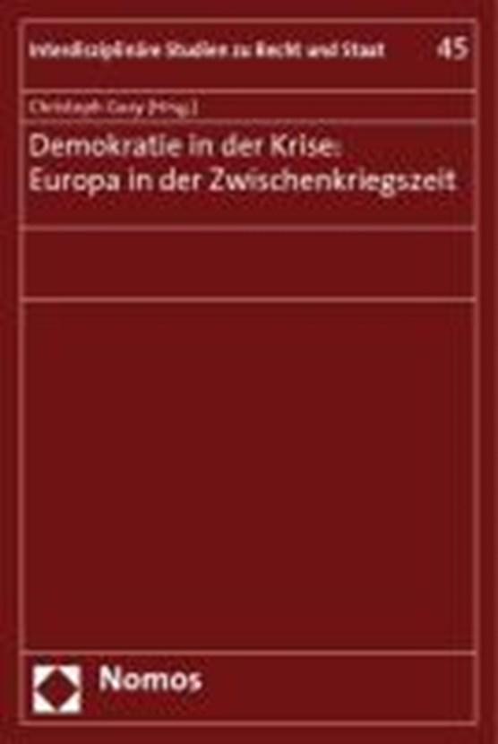Demokratie in der Krise: Europa in der Zwischenkriegszeit