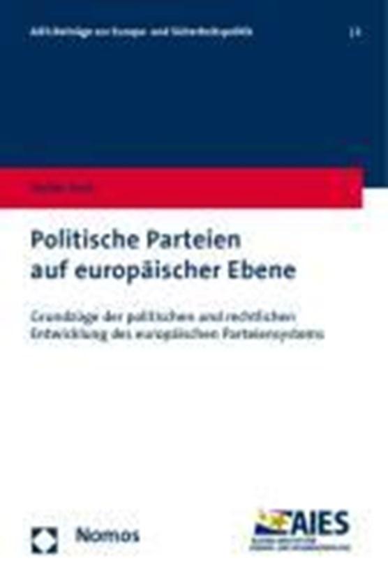 Zotti, S: Politische Parteien auf europäischer Ebene