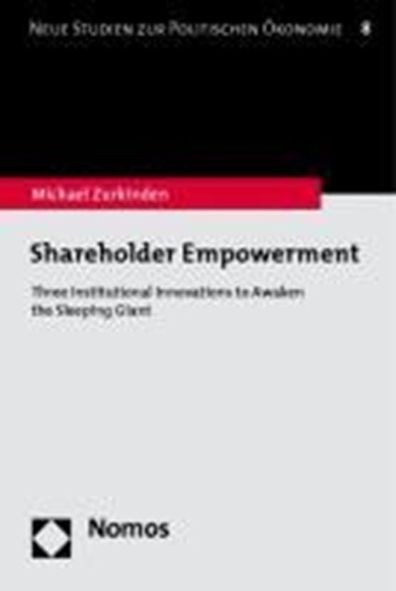 Shareholder Empowerment
