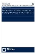 Die arbeits- und haftungsrechtliche Stellung des Arztes im Praktikum (AiP) | Bernd Zimmermann |