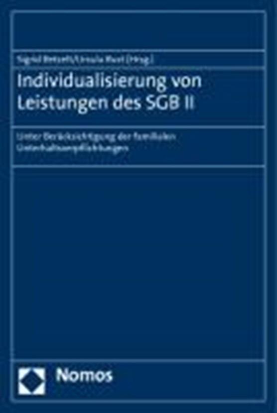Individualisierung von Leistungen des SGB II