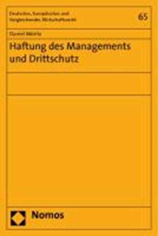Haftung des Managements und Drittschutz