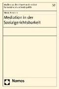 Mediation in der Sozialgerichtsbarkeit   Nikola Friedrich  