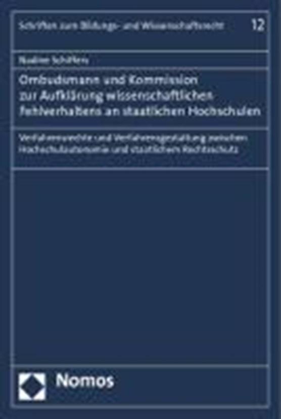 Ombudsmann und Kommission zur Aufklärung wissenschaftlichen Fehlverhaltens an staatlichen Hochschulen