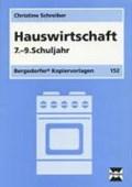 Hauswirtschaft 7.-9. Schulj.   Christine Schreiber  