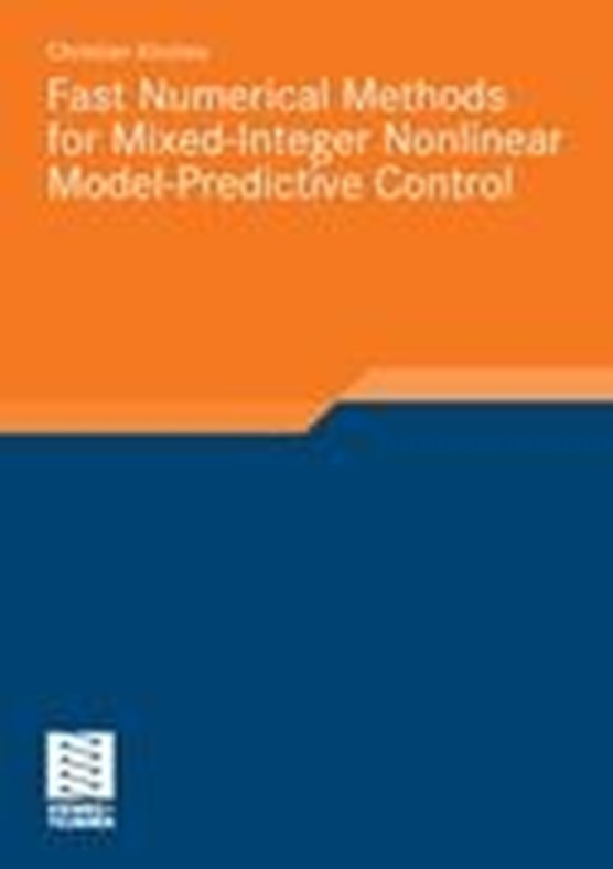 Fast Numerical Methods for Mixed-Integer Nonlinear Model-Predictive Control
