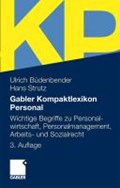 Gabler Kompaktlexikon Personal | Ulrich Budenbender ; Hans Strutz |