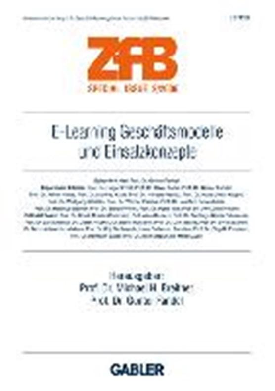 E-Learning Geschaftsmodelle und Einsatzkonzepte