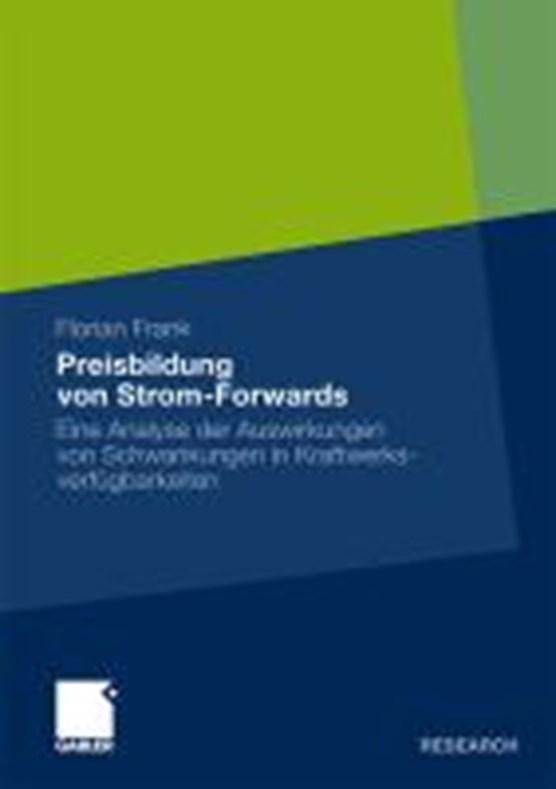 Preisbildung Von Strom-Forwards