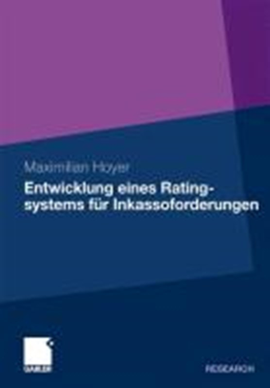 Entwicklung Eines Ratingsystems Fur Inkassoforderungen