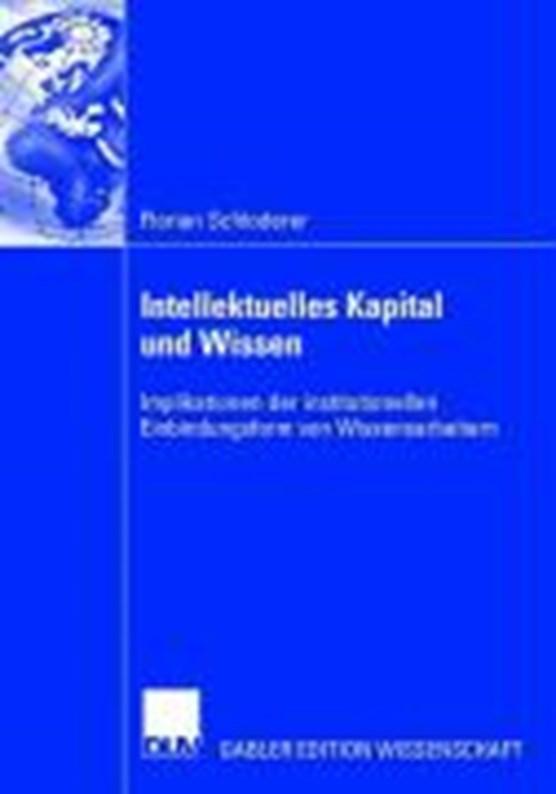 Intellektuelles Kapital Und Wissen