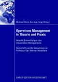 Operations Management in Theorie Und Praxis   Kai-Ingo Voigt ; Michael Hoeck  