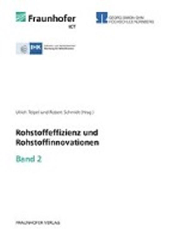 Rohstoffeffizienz und Rohstoffinnovationen. Band 2