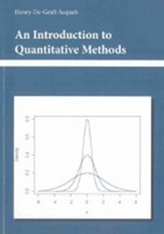 Acquah, H: Introduction to Quantitative Methods