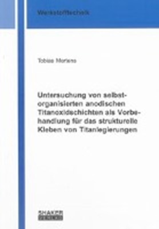 Mertens, T: Untersuchung von selbstorganisierten anodischen