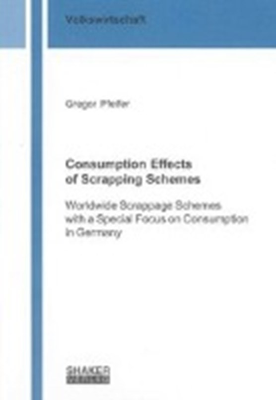 Consumption Effects of Scrapping Schemes