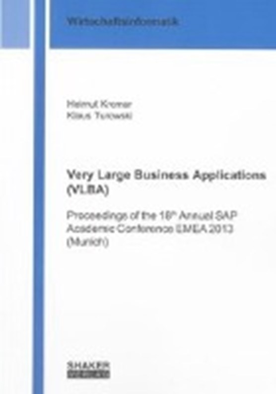 Very Large Business Applications (VLBA)