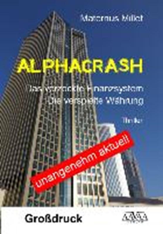 Alphacrash - Großdruck