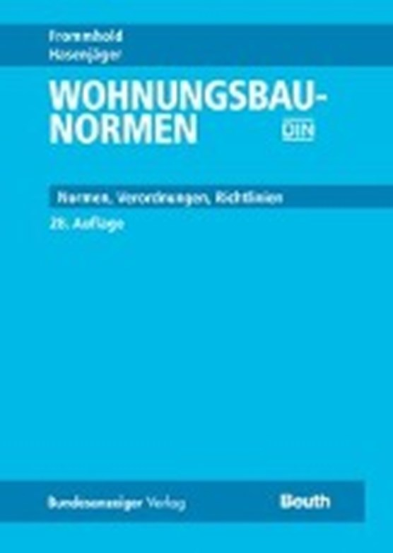 Frommhold, H: Wohnungsbau-Normen