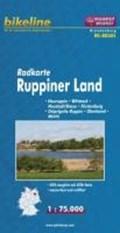 Bikeline Radkarte Deutschland Ruppiner Land 1 : 75 000 | auteur onbekend |