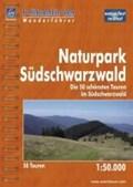 Hikeline Wanderführer Naturpark Südschwarzwald 1 : 50 000   auteur onbekend  