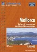 Hikeline Wanderführer Mallorca 1 : 50 000   Nikolaus Sieber  