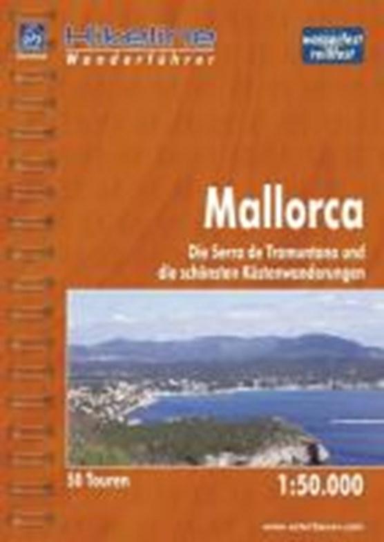 Hikeline Wanderführer Mallorca 1 : 50 000