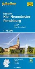 Bikeline Radkarte Kiel Neumünster Rendsburg 1 : 75 000 | auteur onbekend |