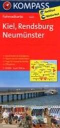 Kompass FK3004 Kiel, Rendsburg, Neumünster   auteur onbekend  