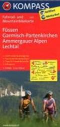 Kompass FK3127 Füssen, Garmisch-Partenkirchen, Ammergauer Alpen, Lechtal | auteur onbekend |