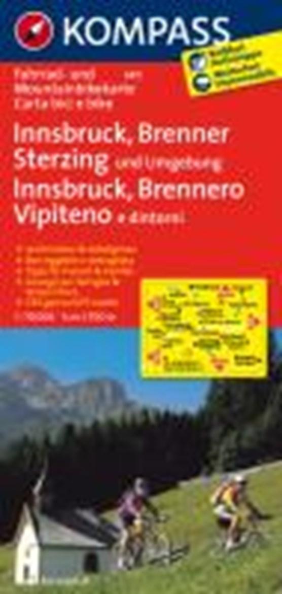 Kompass FK3411 Innsbruck, Brenner, Sterzing