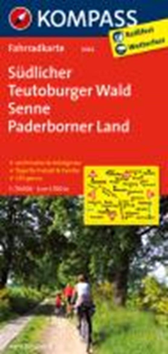 Kompass FK3062 Südlicher Teutoburger Wald, Senne, Paderborner Land