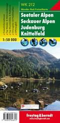 F&B WK212 Seetaler Alpen, Seckauer Alpen, Judenburg, Knittelfeld | auteur onbekend |