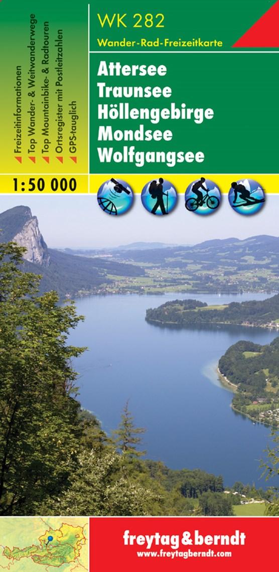 F&B WK282 Attersee, Traunsee, Höllengebirge, Mondsee, Wolfgangsee